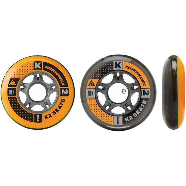 K2 Inliner Rollen Set 80mm / 82A 8er Pack