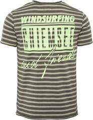 CHIEMSEE T-Shirt gestreift - GOTS zertifiziert