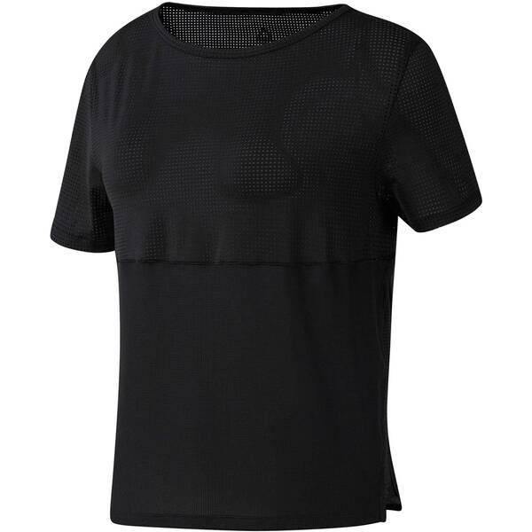 REEBOK Damen Fitness-Shirt Kurzarm