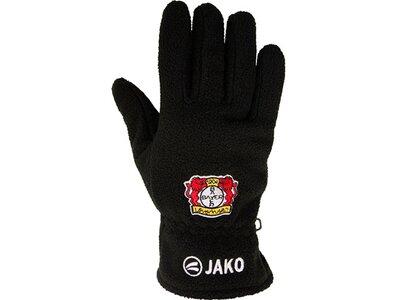JAKO Bayer 04 Leverkusen Fleecehandschuhe Schwarz