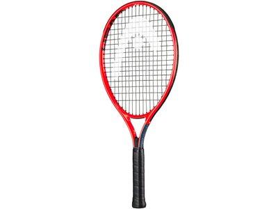 "HEAD Kinder Tennisschläger ""Radical Jr. 21"" - besaitet Rot"