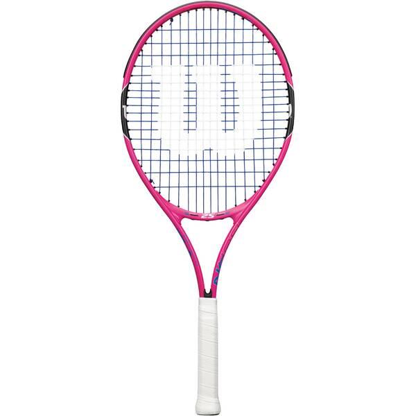 """WILSON Kinder Tennisschläger """"Burn Pink 25"""" besaitet"""