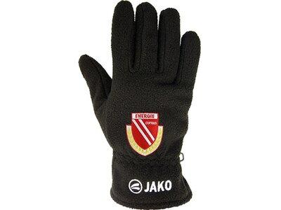 JAKO FC Energie Cottbus Fleecehandschuhe Schwarz