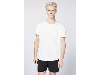 CHIEMSEE T-Shirt mit großem Rückenprint Weiß
