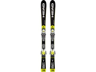 "HEAD Kinder Skier ""Worldcup i.Race Team SLR PRO"" + Bindung ""SLR 7,5 GW"" Gelb"