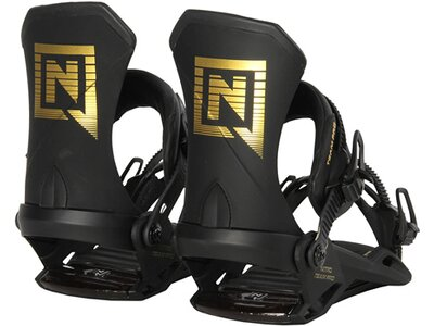"NITRO Snowboardbindung ""Team Pro 2021"" Schwarz"