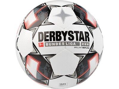 DERBYSTAR Equipment - Fußbälle Bundesliga Brillant APS Replica Weiß