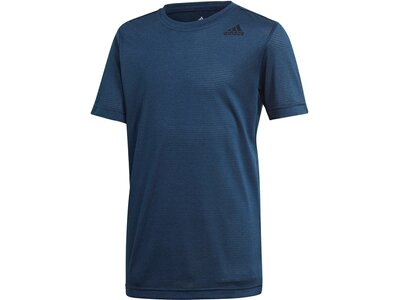 ADIDAS Kinder T-Shirt Textured Tee Blau