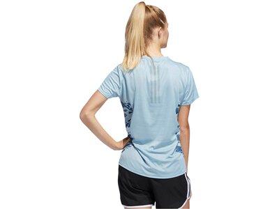 "ADIDAS Damen Lauf-Shirt ""Supernova"" Silber"