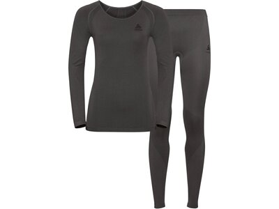 "ODLO Damen Unterwäsche ""Performance Essential"" Set Grau"