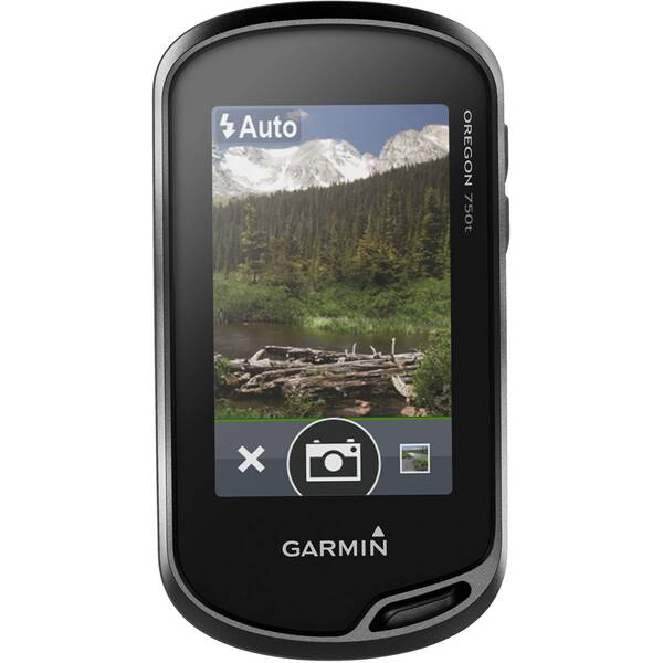 "GARMIN GPS Gerät ""Oregon 750t"" Bundle mit Topo Active Europa"