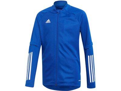 adidas Kinder Condivo 20 Trainingsjacke Blau