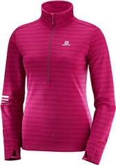 SALOMON Damen Laufshirt Lightning HZ Langarm