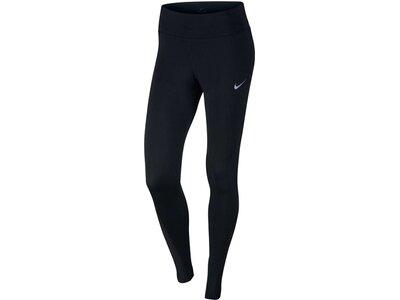 NIKE Damen Leggings Women's Nike Power Running Tight Schwarz