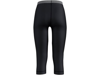 "ODLO Damen Funktionsunterhose ""BL Bottom Natural"" 3/4-Länge Schwarz"