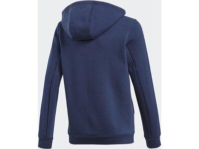 ADIDAS Kinder Essentials 3-Streifen Kapuzenjacke Blau