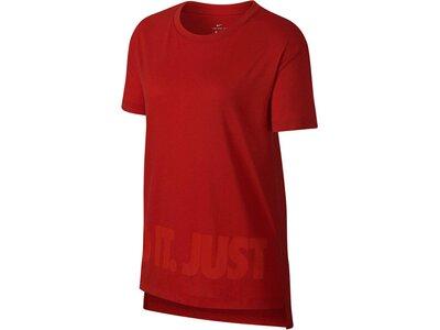 "NIKE Damen Trainingsshirt ""Dry Tee Hilo Jdi"" Braun"