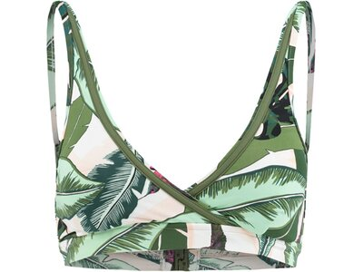 "SEAFOLLY Damen Bikini Oberteil ""Palm Beach"" Grün"
