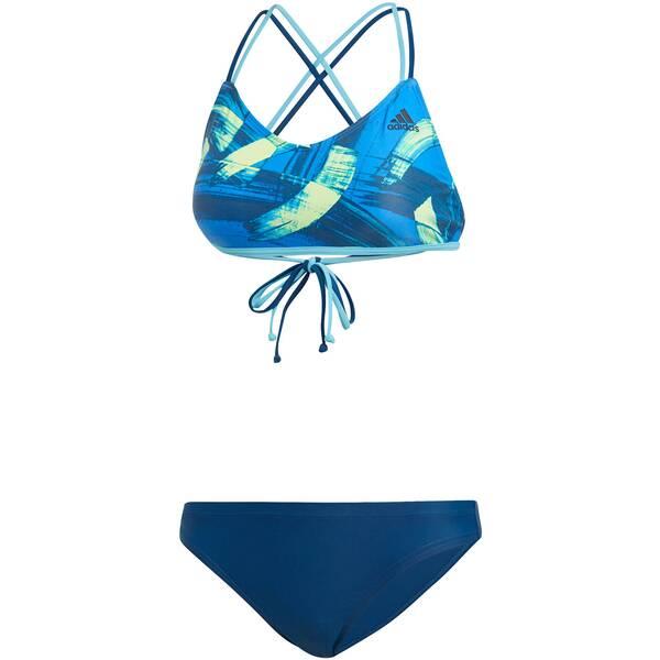 Bademode - ADIDAS Damen Bikini Parley › Braun  - Onlineshop Intersport