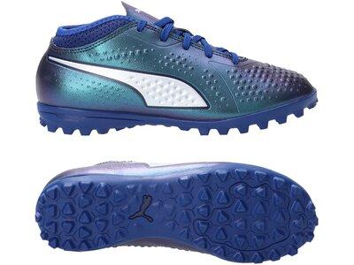 PUMA Fußball - Schuhe Kinder - Turf ONE 4 TT Turf Kids Blau
