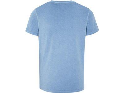 CHIEMSEE T-Shirt aus GOTS-zertifizierter Bio-Baumwolle Blau