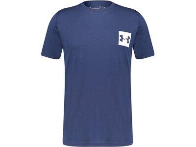 """UNDERARMOUR Herren T-Shirt """"Box Logo"""" Blau"""