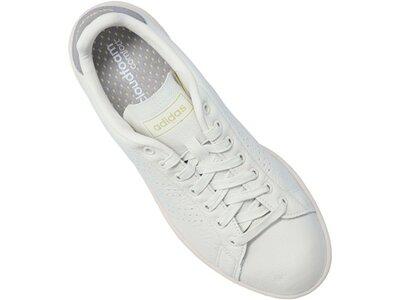 ADIDAS Lifestyle - Schuhe Herren - Sneakers Advantage Sneaker Beige Silber