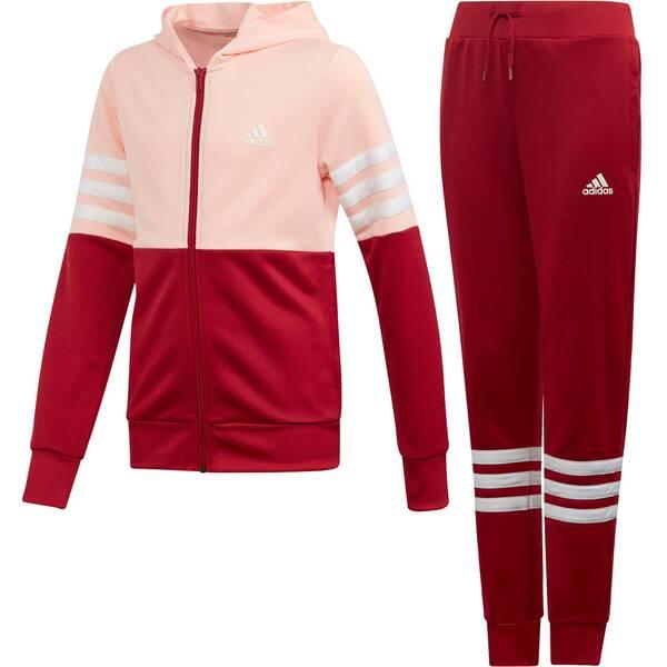 "ADIDAS Mädchen Trainingsanzug ""YG Hooded"""