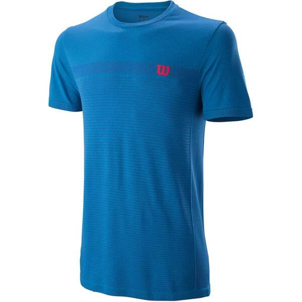 WILSON Herren Tennisshirt Kurzarm