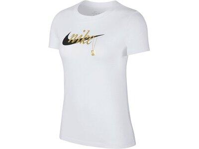 NIKE Damen T-Shirt Weiß