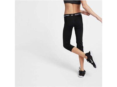 NIKE Mädchen Fitness-Tights 3/4-Länge Schwarz
