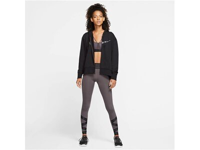 NIKE Damen Trainings-Sweatjacke Schwarz