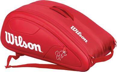 WILSON Tennistasche Federer DNA 12 Pack Red