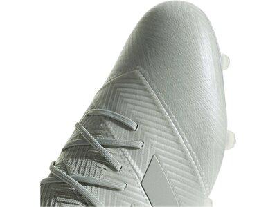 ADIDAS Herren Fußballschuhe Nemeziz 18.1 FG Silber