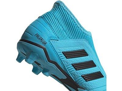 ADIDAS Fußball - Schuhe Kinder - Nocken Predator Hard Wired 19.3 LL FG Kids Blau