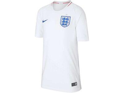 NIKE Kinder Fußballtrikot England Stadium Home WM 2018 Weiß