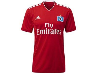 ADIDAS Herren Hamburger SV Auswärtstrikot Weiß