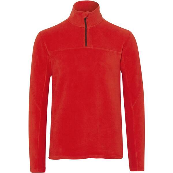 CHIEMSEE Fleece Pullover unifarben