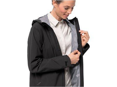 "JACKWOLFSKIN Damen Jacke ""JWP Coat"" Schwarz"