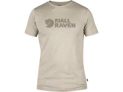 "FJÄLLRÄVEN Herren T-Shirt ""Logo"" Weiß"