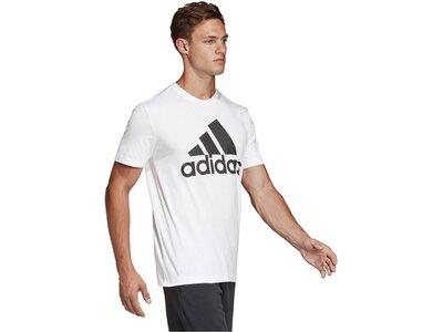 "ADIDAS Herren Trainingsshirt Kurzarm ""Must Have Badge of Sport"" Grau"