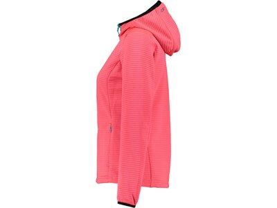 """CMP Damen Fleece- und Powerstrechjacke """"Fix Hood"""" Pink"""