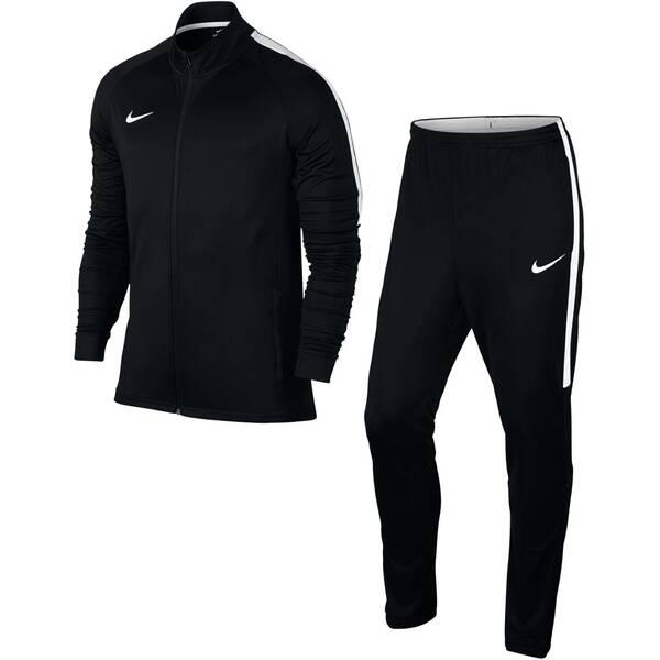 NIKE Herren Fußball-Trainingsanzug Dry | Sportbekleidung > Sportanzüge > Trainingsanzüge | Schwarz - Weiß | Polyester | NIKE