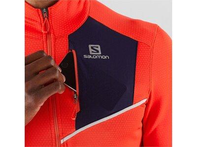 "SALOMON Herren Lauf-/Trailrunningshirt ""Fast Wing"" Langarm Rot"