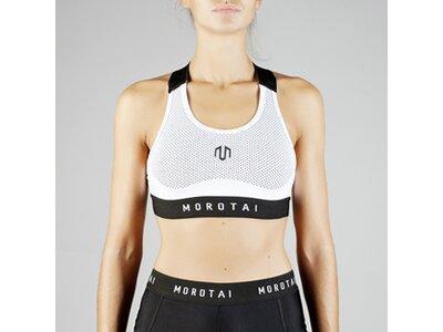 Sport-BH ' Mesh Endurance Bra X-Back ' Weiß