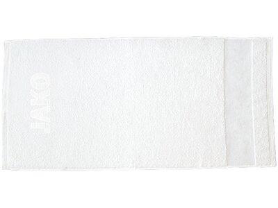 JAKO Unisex Badetuch Weiß