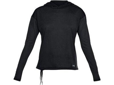 UNDERARMOUR Damen Sweatshirt Threadborne Schwarz
