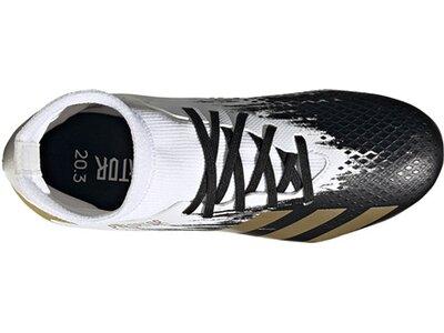 ADIDAS Fußball - Schuhe Kinder - Nocken Predator Uniforia 20.3 FG J Kids Weiß