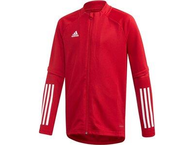 adidas Kinder Condivo 20 Trainingsjacke Rot
