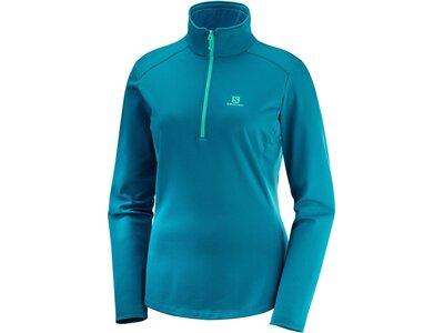 "SALOMON Damen Laufshirt ""Discovery LT HZ"" Blau"